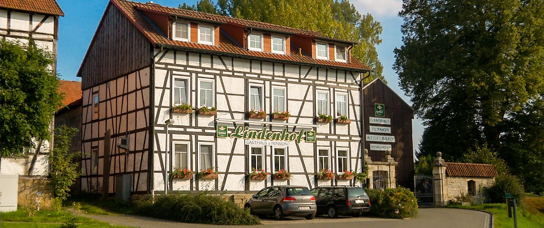 Landgasthaus und Pension Lindenhof in Hohenbergen